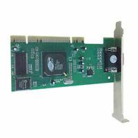1x8MB ATi RageXL PCI VGA Standard Profile Bracket Video Card Graphics Card 32bit
