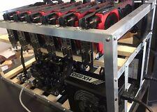 8 GPU Open Air Case Mining Gehäuse Halterung ETH BTC Ethereum Bitcoin sehr .....