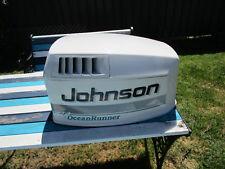 JOHNSON OUTBOARD  0437831 ENGINE COVER cowl 115HP  OCEAN RUNNER WHITE 1995-96