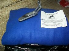 Blue FLEECE Snuggie & Mini Book Light SET; ADULT Size Blanket Robe; New, no box