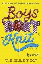 """VERY GOOD"" Easton, Tom, Boys Don't Knit, Book"