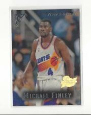 1995-96 Topps Gallery Player's Private Issue #46 Michael Finley Rookie Suns