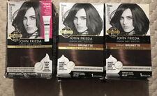 (3) John Frieda Precision Foam Colour Medium Chestnut Brown 5NBG Damaged Boxes