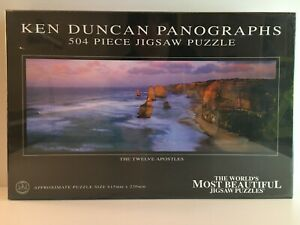 KEN DUNCAN Panographs Twelve Apostles Vic Victoria 504 Piece Jigsaw Puzzle NEW