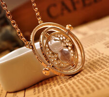 Latest Harry Potter Halloween Accessories Hermione Timeturner Hourglass Necklace