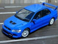 Rare 1/18 AutoArt Mitsubishi Lancer Evo VII Detailed Toy Model Collectible Car