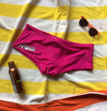 NWOT! aussieBum Rower Style Swimsuit, Raspberry Pink, Large (34-36 waist)