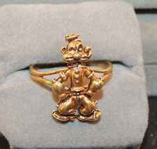 Popeye Copper Clad Ajustable Ring Size 7  (11171)