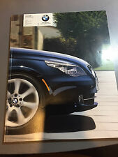 2009 BMW 5 Series Catalog 528i 528xi 535i 535xi 550i E60 Brochure 528 535 550 i