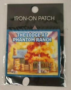NEW Official Phantom Ranch Patch Grand Canyon National Park NEW SEALED