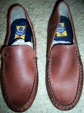 Leather Casual Shoes Brown Base London  Men size 8 M  New