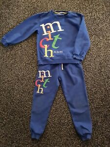 Mitch And Son Blue Tracksuit Age 5 Designer