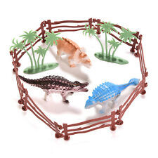 13X Jurassic Toy Dinosaur Model with 3D Jurassic Jungle Classic Boys Gift