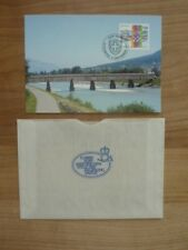 """Liechtenstein Maximum Karte Nr. 134 """" Gemeinschaftsmarke Schweiz Liechtenstein """""""