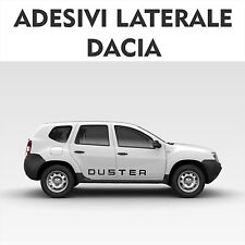 fasce adesive auto dacia duster stickers tuning strisce fiancate laterali racing