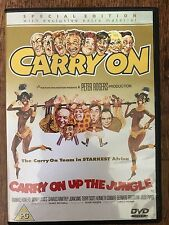 Sid James Frankie Howerd CARRY ON UP THE JUNGLE ~ 1970 Comedia Británica GB DVD