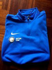 Maglia calcio nike inter cdf felpa giacca jacke tracksuit jacket 12-13 years