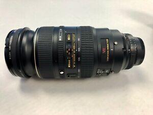 Nikon Zoom-NIKKOR 80-400mm f/4.5-5.6 VR D ED Lens