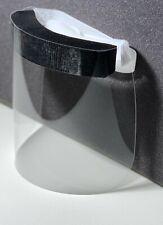 Safety Face Shields, Transparent Full Face Protective Flexible Plastic Visor