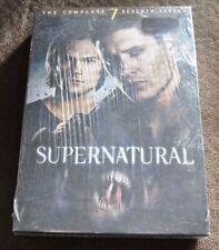 Supernatural Complete 7th Season 6 DVD box set Region 1 NTSC English Audio