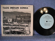 Pete Concha, Taos Indian Songs, Taos Recordings & Publications, TRP 1, EP Indian