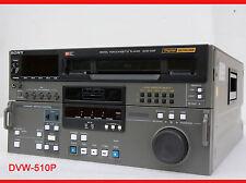 SONY DVW-510P DIGITAL BETACAM PROFI VIDEOPLAYER PLAYER 100% OK VTR SD PAL #I83
