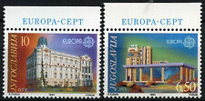 Yugoslavia 1990 SG#2616-7 Europa Post Office Buildings MNH Set #D55709