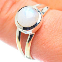 Rainbow Moonstone 925 Sterling Silver Ring Size 9.75 Ana Co Jewelry R52089F