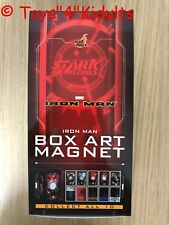 Hot Toys Iron Man Box Art Magnet Box 10 of Set NEW
