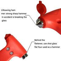 2 in 1 Car Glass Window Breaker Emergency Hammer Seat Belt Cutter .*