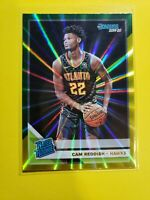 2019-20 Donruss CAM REDDISH Rated Rookie #209 Green Yellow Laser Holo Atlanta SP