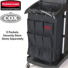 Rubbermaid 9 Pocket Executive Organiser Hanging Cart Caddy Housemaid Janitor