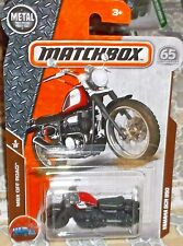 2018 Matchbox MBX Off Road 4-20 Black Yamaha SCR 90 Motorcycle Diecast 4+ Thaila