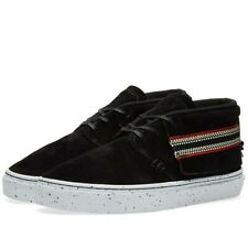 BNWB Mens Clear Weather Brand One-O-One Sneaker Trainers Black Suede UK6 RRP £90