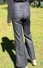 """7 FOR ALL MANKIND 29"""" W """"Ginger """"  tag 25 BLUE FLARED BELLBOTTOM BLUE JEANS USA"""