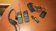 Lot 2 -Qualcomm QCP-860 Antenna Mobile Phone+Wall Charger+Car Charger+Case Works
