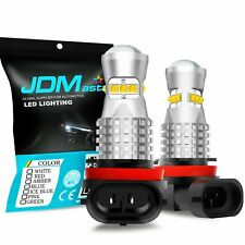 JDM ASTAR 2x 60W H11 3000K 1600LM Golden Yellow Cree LED Fog Driving Light Bulbs