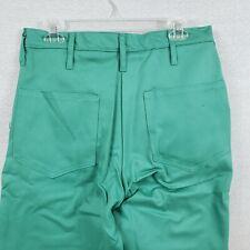 Stanco Proban Green Flame Resistant Welding Pants 32 W X 40l Nos 4 Pocket Usa