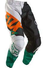New 2016 Fox Youth 180 Vandal Pants Size 24 Green Orange 11451 147 24