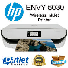 Printer HP ENVY 5030 Wireless Inkjet Buetooth Multi-Function + Ink Cartridge Set