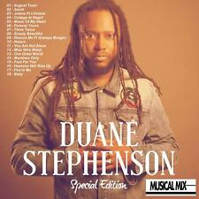 DUANE STEPHENSON REGGAE MUSICAL MIX CD