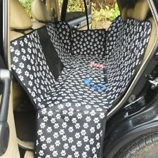 Pet Car Seat covers for Dog with Mesh Window Back Seat Protector Dog Hammock