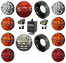 LAND ROVER DEFENDER COMPLETE 10 COLOUR LED LAMP/LIGHT UPGRADE KIT RDX WIPAC LUX