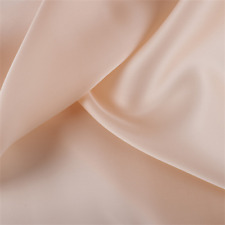 Bisque Silk Satin Organza, Fabric By The Yard