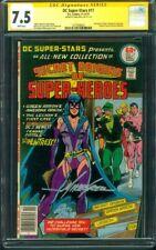 DC Super Stars 17 CGC SS 7.5 Huntress Origin 1977 Marriage of E2 Batman Catwoman