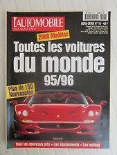 l'Automobile magazine hors série / Toutes les voitures du monde 95/96