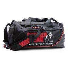 Gorilla Wear Jerome Gym Bag – Black/Red Sporttasche Tasche Schwarz/Rot