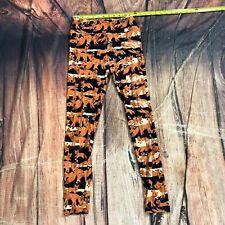 Lularoe Casual Athletic Legging Pants Stretch One Size Animal Print - C135