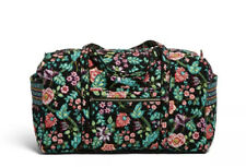 Vera Bradley Iconic Large Travel Duffel Bag Vines Floral NWT RV$100 Weekend