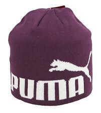 PUMA Kinder Mütze Beanie, Italian Plum-No1 Logo
